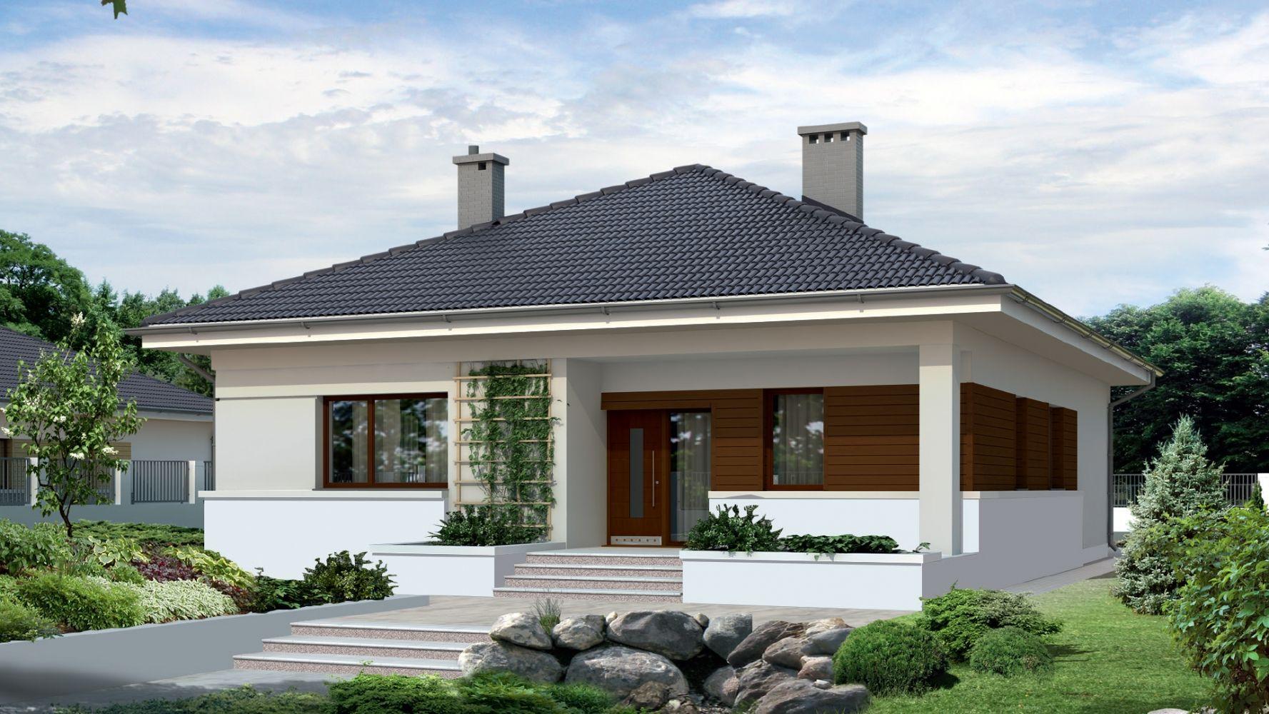 Kolory Elewacji Domu A Grafitowy Dach 5 Oryginalnych Pomyslow
