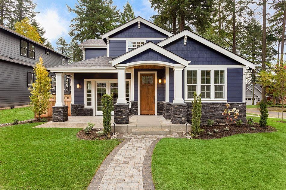 5 Pomyslow Na Kolory Elewacji Domow Z Bialymi Oknami Foveo Tech